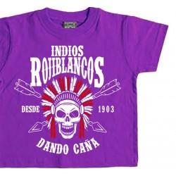 Camiseta Infantil Indios