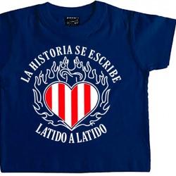 Camiseta Infantil Latido