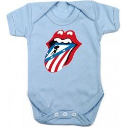 Body Bebé Stones Rojiblancos