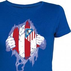 Camiseta Chica Atleti por...