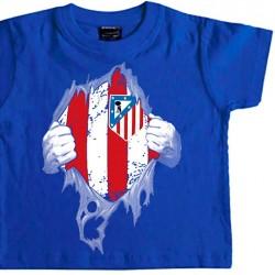 Camiseta Infantil Atleti...
