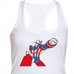 Camiseta Nadadora Mazinger...