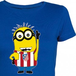 Camiseta Chica Minion Atleti