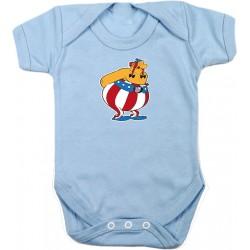 Body Bebé Obelix Atleti