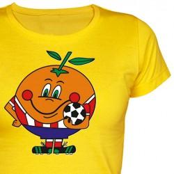 Camiseta Chica Naranjito...