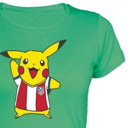 Camiseta Chica Picachu Atleti