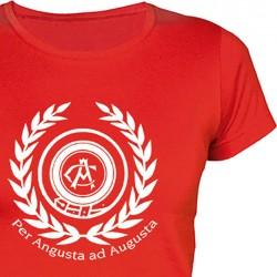 Camiseta Chica Per Angusta...