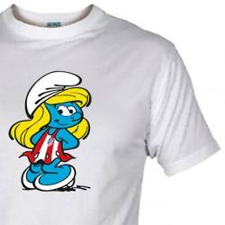 Camiseta Pitufina Rojiblanca