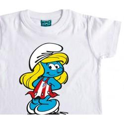 Camiseta Infantil Pitufina