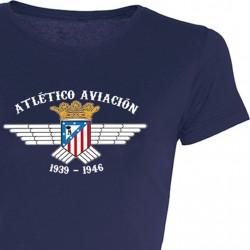Camiseta Chica At. Aviación