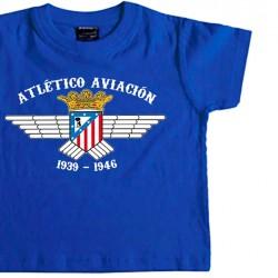Camiseta Infantil At. Aviación