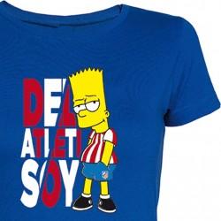 Camiseta Chica Bart Colchonero