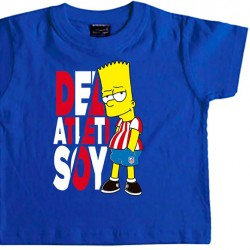 Camiseta Infantil Bart...