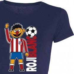 Camiseta Chica Epi Rojiblanco