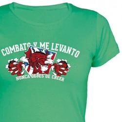 Camiseta Chica Combato y Me...