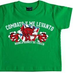 Camiseta Infantil Combato Y...
