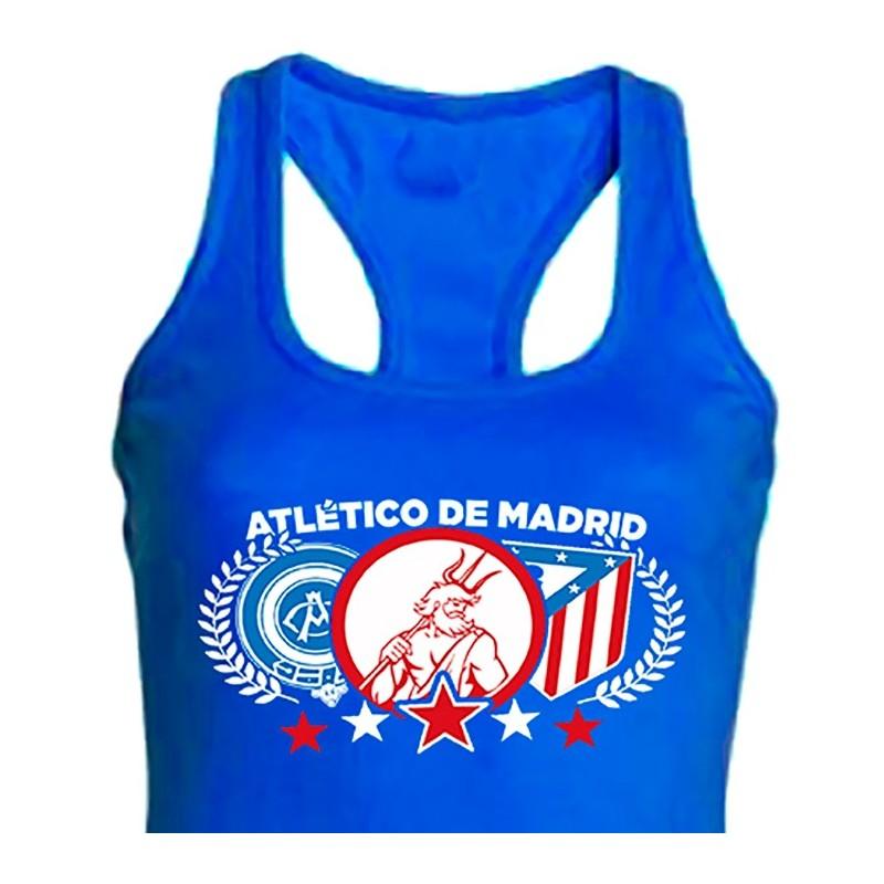 9e0479bbb513c Camiseta Nadadora Escudos Talla S Color Negro