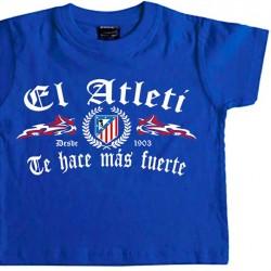 Camiseta Infantil Fuerte