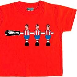 Camiseta Infantil Futbolín...