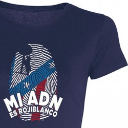 Camiseta Chica ADN Rojiblanco